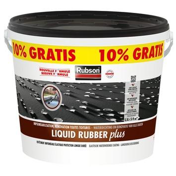 Rubson Liquid Rubber Plus zwart 5 L + 10 %