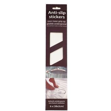 Dutch house antislipstickers wit 6 stuks