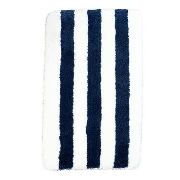 Vienne badmat blauw wit 60x90 cm