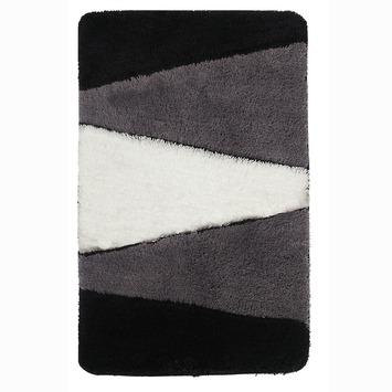 Gamma Alpes badmat zwart 60x90 cm