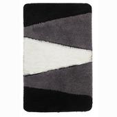 Tapis de bain Alpes 60x90 cm noir/gris