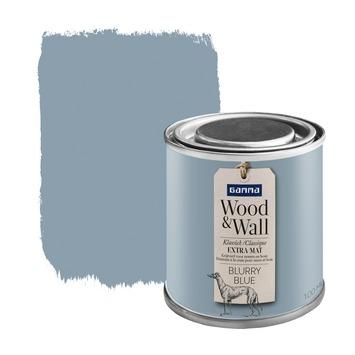 Wood&Wall krijtverf blurry blue 100 ml