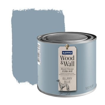 Peinture à la craie Wood&Wall 500 ml blurry blue