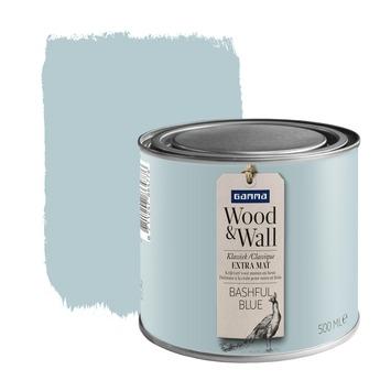 Peinture à la craie Wood&Wall 500 ml bashful blue