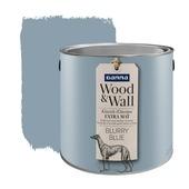 Wood&Wall krijtverf blurry blue 2,5 L