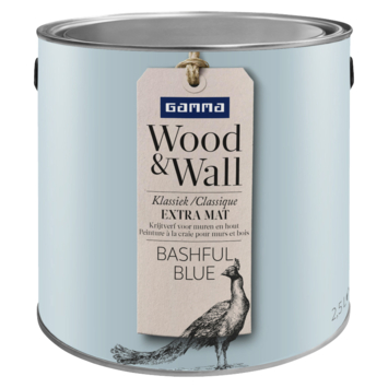 Wood&Wall krijtverf bashful blue 2,5 L