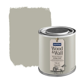 Wood&Wall krijtverf true taupe 100 ml
