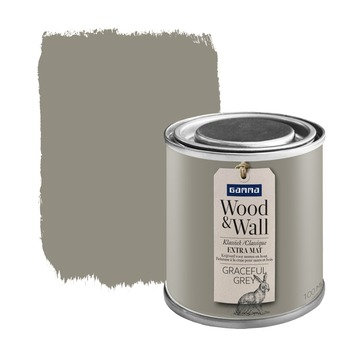 Wood&Wall krijtverf graceful grey 100 ml
