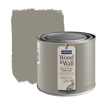 Peinture à la craie Wood&Wall 500 ml graceful grey