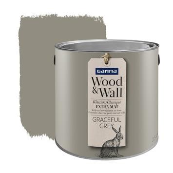 Wood&Wall krijtverf graceful grey 2,5 L