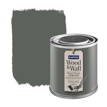 Wood&Wall krijtverf genuine grey 100 ml