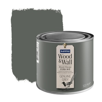 Peinture à la craie Wood&Wall 500 ml genuine grey