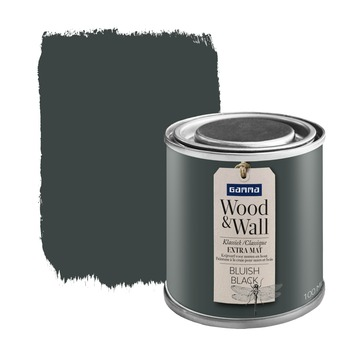 Wood&Wall krijtverf bluish black 100 ml