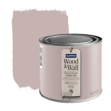 Peinture à la craie Wood&Wall 500 ml precious pink