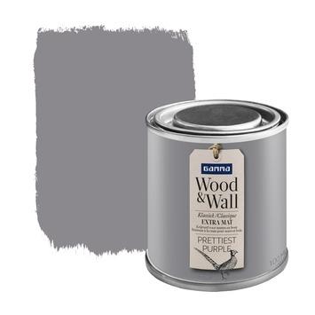 Wood&Wall krijtverf prettiest purple 100 ml
