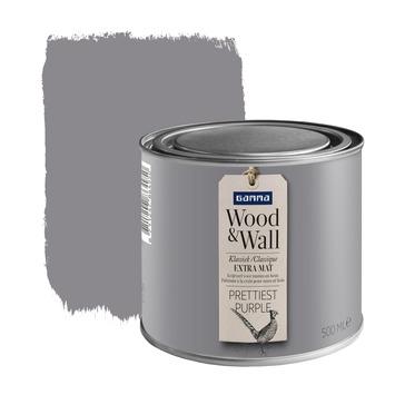 Wood&Wall krijtverf prettiest purple 500 ml