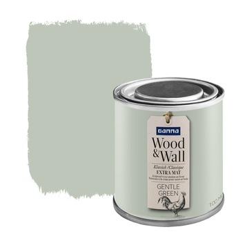 Wood&Wall krijtverf gentle green 100 ml
