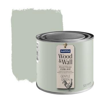 Peinture à la craie Wood&Wall 500 ml gentle green