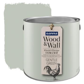 Wood&Wall krijtverf gentle green 2,5 L