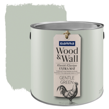 Peinture à la craie Wood&Wall 2,5 L gentle green