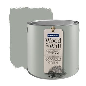 Peinture à la craie Wood&Wall 2,5 L gorgeous green