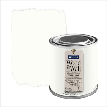 Peinture à la craie Wood&Wall 100 ml wonderful white