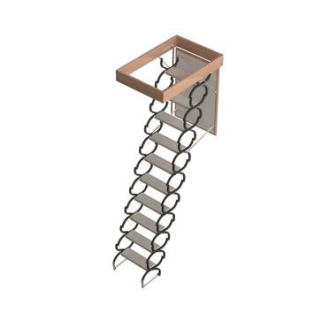 Escalier de grenier Ecosteel Sogem 90x60 cm