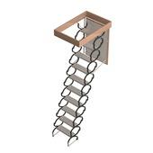 Escalier de grenier Ecosteel Sogem 120x70 cm