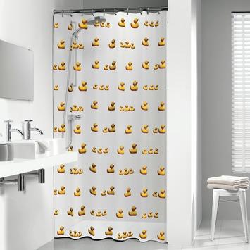 Rideau de douche Sealskin Duckling 180x200cm PVC jaune