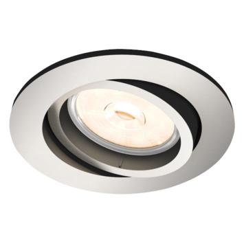 Spot encastrable Philips Donegal excl GU10 rond orientable max. 5,5W nickel