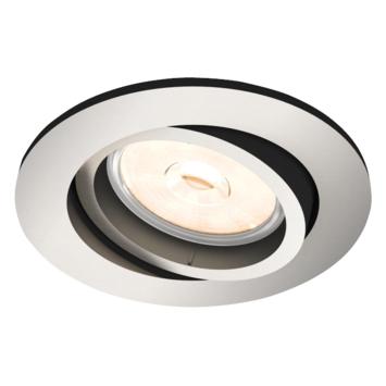 Philips Donegal inbouwspot excl. lampen GU10 rond richtbaar max. 5,5W inox