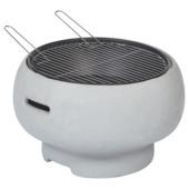 Florida barbecue vuurkorf grijs 55x33 cm