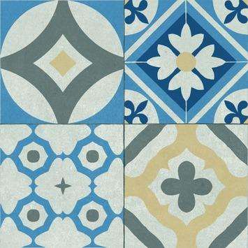 Dalle de terrasse Mosaique 60x60x4 cm motif Oasis - 0,36 m²/dalle