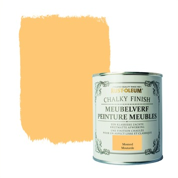 Rust-Oleum Chalky finish meubelverf Mosterd 750 ml