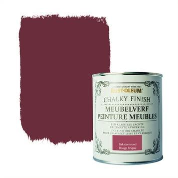 Rust-Oleum Chalky finish meubelverf Baksteenrood 750 ml