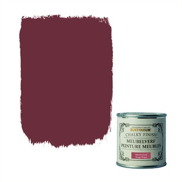 Rust-Oleum Chalky finish meubelverf Baksteenrood 125 ml