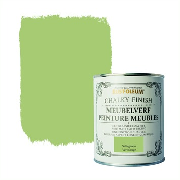 Rust-Oleum Chalky finish meubelverf Saliegroen 750 ml