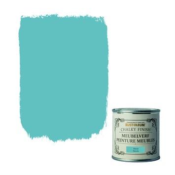Peinture à finition chaulée pour meubles Rust-Oleum bleu pétrole 125 ml