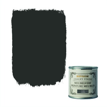 Rust-Oleum Chalky finish meubelverf Grafiet 125 ml