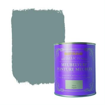 Rust-Oleum Chalky finish meubelverf Metallic zilver 750 ml