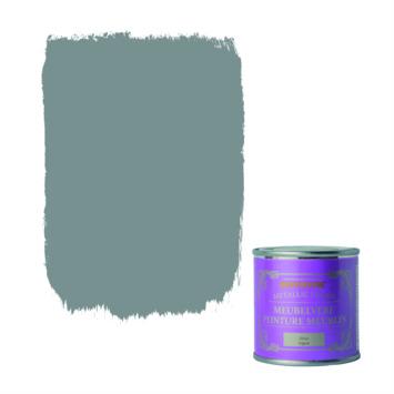 Rust-Oleum Chalky finish meubelverf Metallic zilver 125 ml
