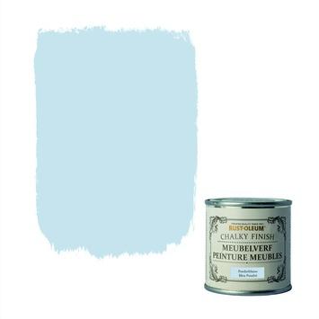 Rust-Oleum Chalky finish meubelverf Poederblauw 125 ml