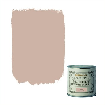 Rust-Oleum Chalky finish meubelverf Toffee 125 ml