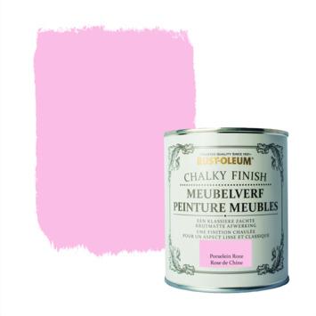 Rust-Oleum Chalky finish meubelverf Porselein roze 750 ml