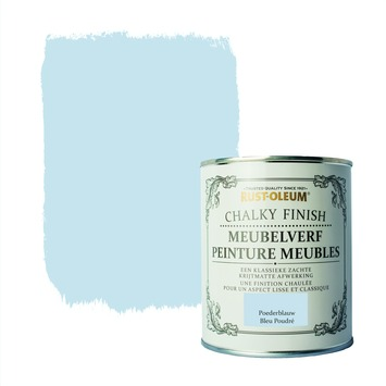 Rust-Oleum Chalky finish meubelverf Poederblauw 750 ml