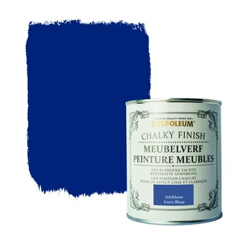 Rust-Oleum Chalky finish meubelverf Inktblauw 750 ml