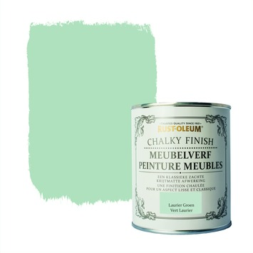 Rust-Oleum Chalky finish meubelverf Laurier groen 750 ml