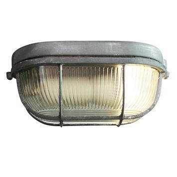 Wand- en plafondlamp Bobbi klein E27 max. 40 W betongrijs