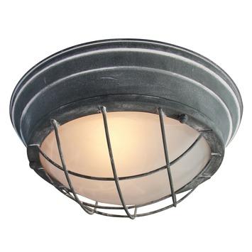 Wand- en plafondlamp Typhoon rond 2xE27 max. 60 W betongrijs