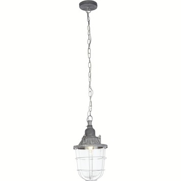 Hanglamp Storm E27 max. 60 W betongrijs